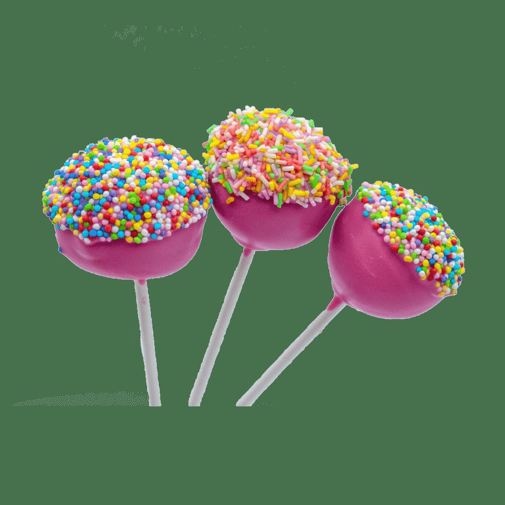 las cake pops son un tipo de dulce personalizado para saborear en la confiteria patty