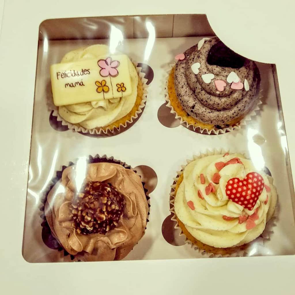 cupcakes personalizados para el dia de la madre