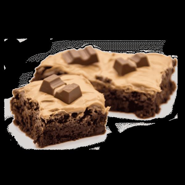 pasteles personalizados en valladolid, brownie de chocolate kinder