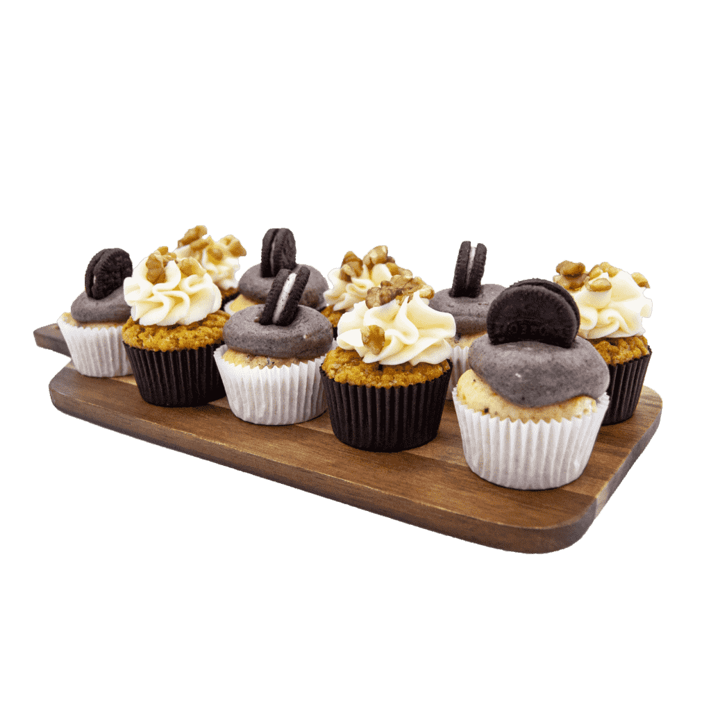mini cupcakes personalizados en la pasteleria de patty en valladolid