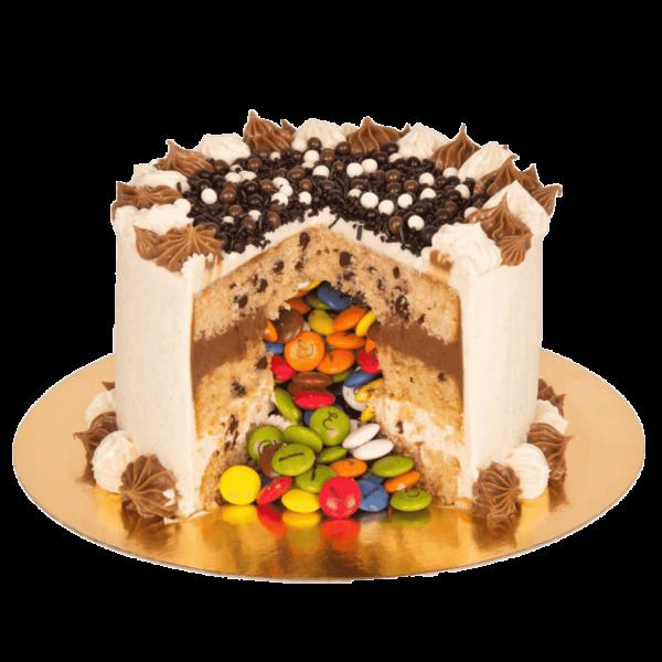 tarta piñata en la pasteleria de valladolid patty