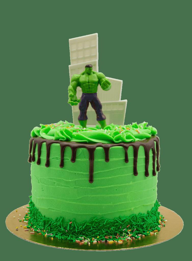 tarta personalizada en la pasteleria de patty en valladolid de hulk